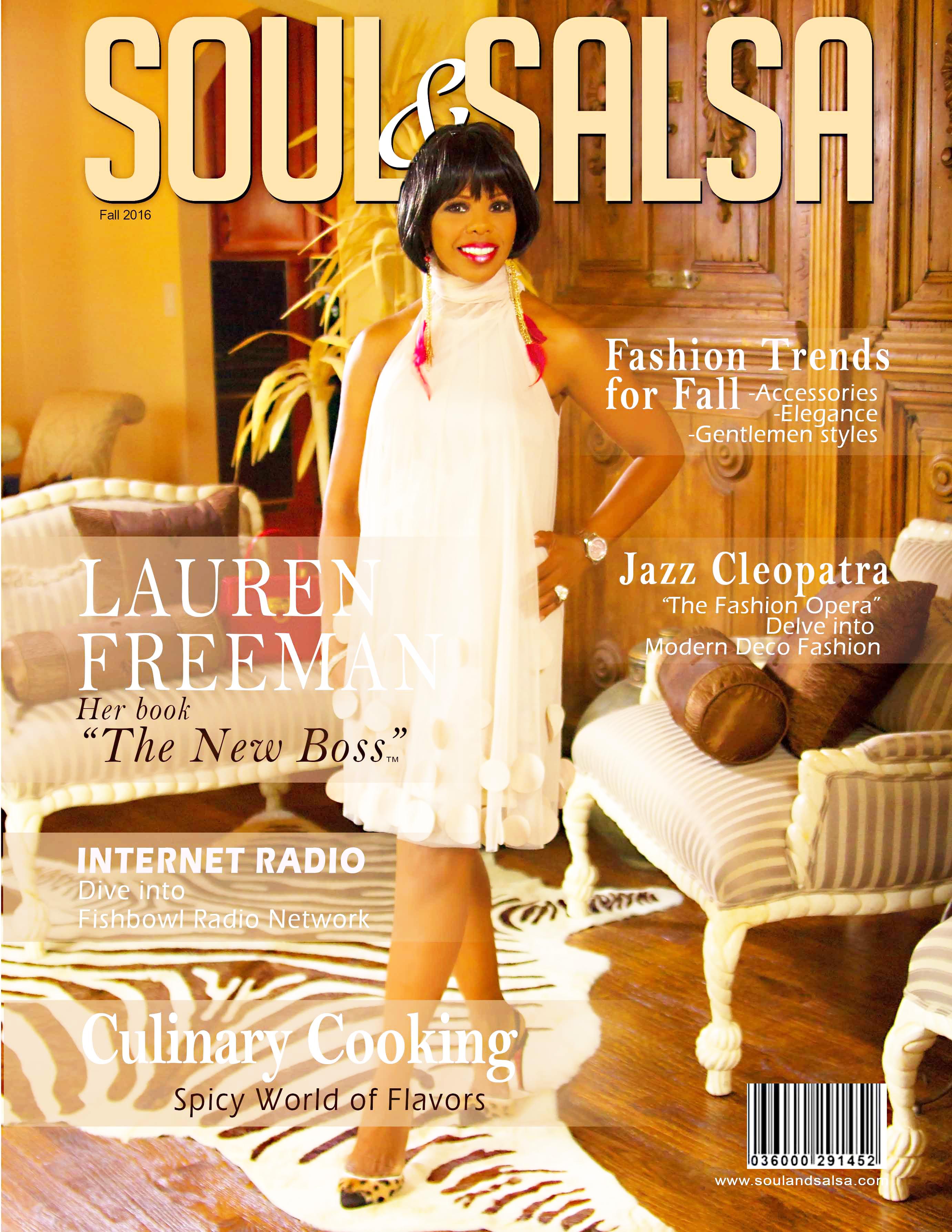 """Lauren Freeman """"The New Boss"""""""